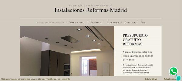 Instalaciones y Reformas Integrales Madrid